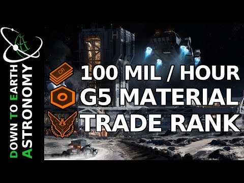 100 Mil/Hour, G5 Materials and fast trade rank | Elite: Dangerous