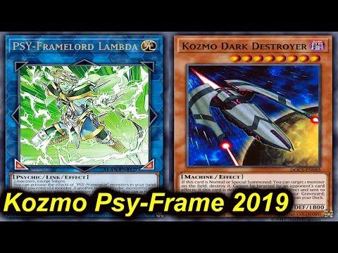 Ygopro Kozmo Psy Frame Deck 2019