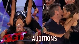 Revolution Queens: HOT Argentina Girls Act WOWS Simon Cowell!😲 | America's Got Talent 2019