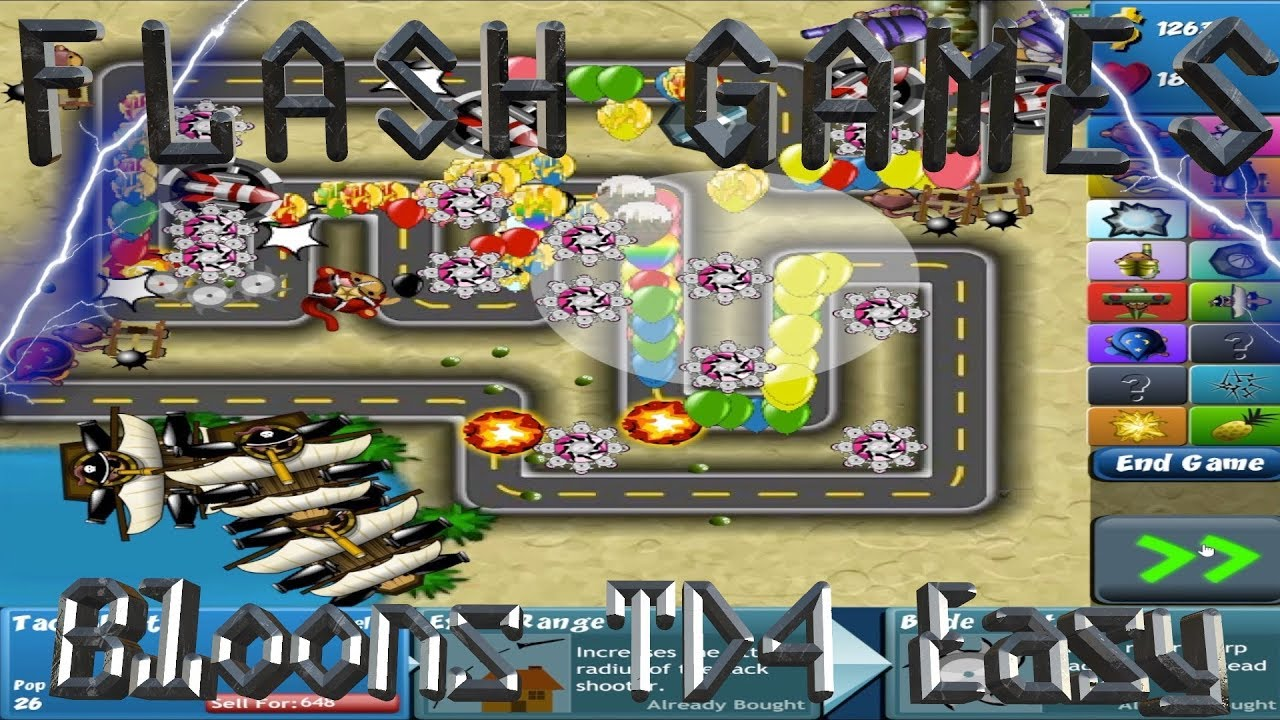 Bloons tower defense 4 unblockeddefinitely not a game site game
