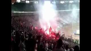 Milanisti Indonesia Chants @ Milan Glorie vs Indonesian All Stars Charity Match 9 Feb 2013