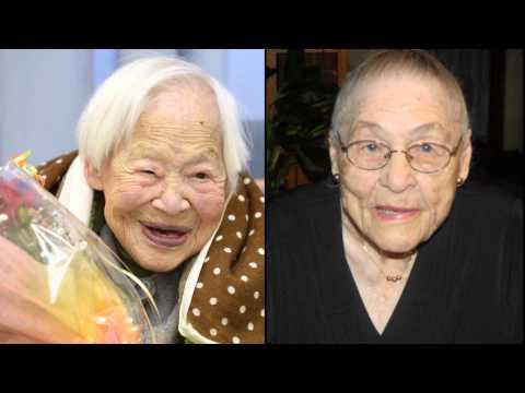 Congradulations Misao Okawa and Gertrude Weaver