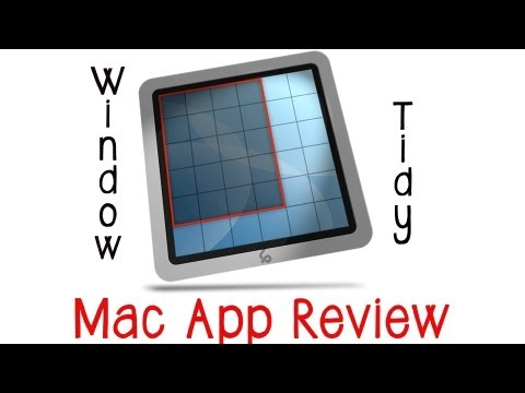 Mac Application Review: Window Tidy