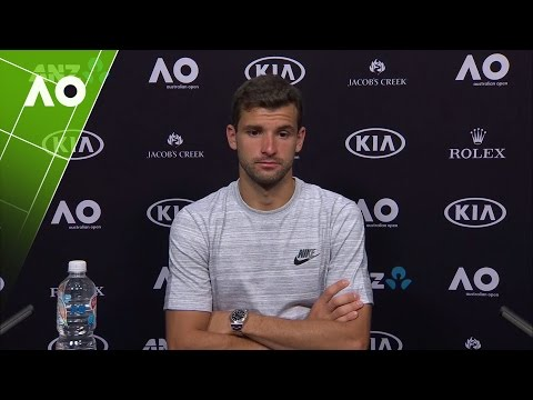 Grigor Dimitrov press conference (SF) | Australian Open 2017