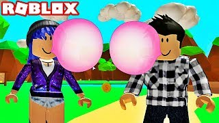 I DISCOVER BUBBLE GUM SIMULATOR WITH MARY! Roblox