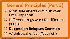 Antidepressants: SSRI, SNRI & Tricyclic Antidepressatns. Citalopram Prozac Amitriptyline