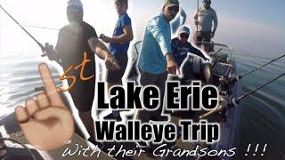 First Walleye trip with the boys! #TakeAKidFishing #SteakOfTheLake #AlwaysBeRecording
