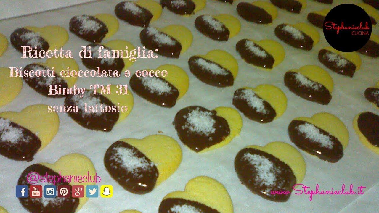 Molto Cucina - Biscotti cioccolata e cocco | senza lattosio | BIMBY TM31  FX61