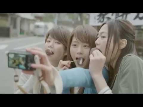 有村架純 FlashAir CM スチル画像。CM動画を再生できます。