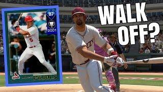 DIAMOND ALBERT PUJOLS IS AMAZING! WALK-OFF INSANE GAME? MLB THE SHOW 18 BATTLE ROYALE