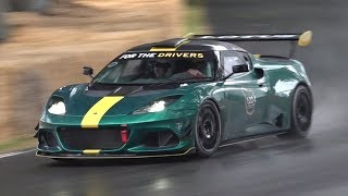Lotus' Ultimate Track Weapon: Evora GT4 Concept! - LOUD 3.5 V6 Supercharged Engine Sound!
