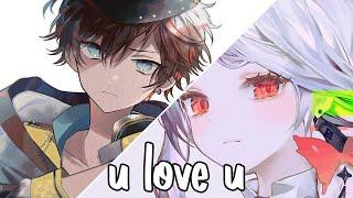 Nightcore - u love u (Lyrics/SV)