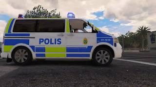 GTA5 | 2009 Volkswagen T5 Multivan Swedish Police 1.0 [RELEASE]