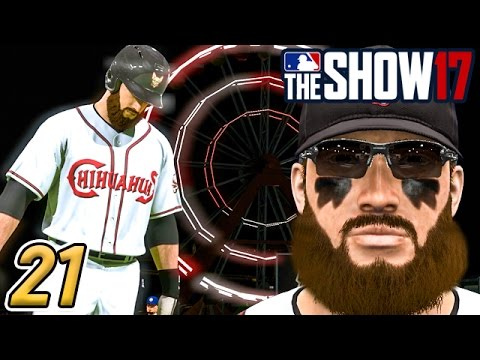 STARKS MISSES SAN ANTONIO - MLB The Show 17 Road to the Show