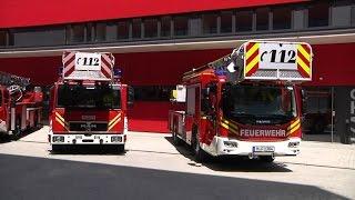 Neue Feuerwache 4 in München eingeweiht