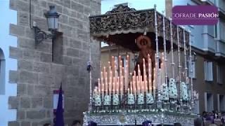 Virgen de las Lágrimas (Columna) por San José y Pl. San Agustín (Semana Santa Cádiz 2019)