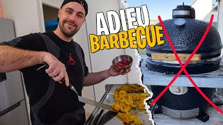 Je remplace mon Barbecue... (+ bonne grillade de viande miam miam)
