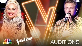 "Lain Roy Puts His Spin on Lewis Capaldi's ""Someone You Loved"" - The Voice Blind Auditions 2020"