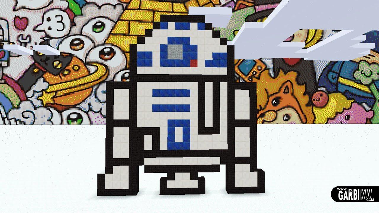 Minecraft Pixel Art How To