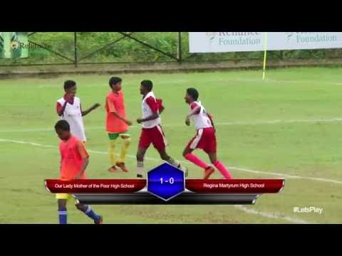 RFYS: Goa Jr. Boys - Regina Martyrum H.S vs Our Lady Mother of the Poor H.S Highlights