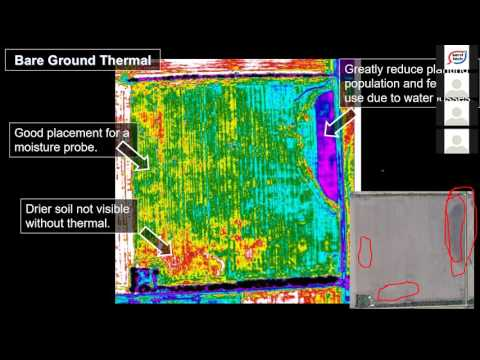 Exploring Aerial Imagery and Precision Ag