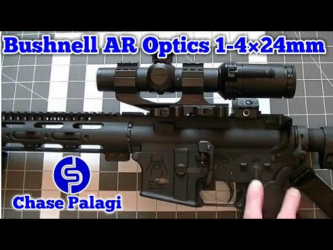 Bushnell AR Optics 1-4 x 24mm Scope Testing and Review