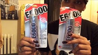 HOW TO GLUE ON STONES / E6000 GLUE & MORE! - ClassicRoyalty