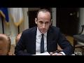 Who Is Trump's White House Adviser Stephen Miller?