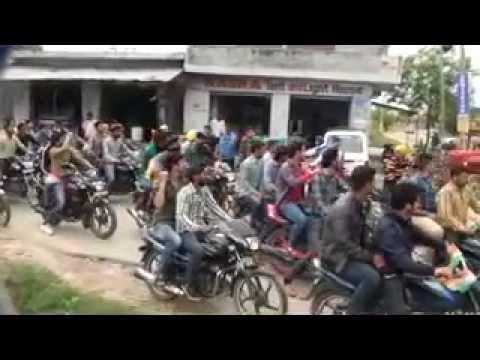 shaheed bhagat singh rally at ramgarh 2014