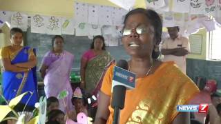 TN school uses bommalattam art to teach students | News7 Tamil