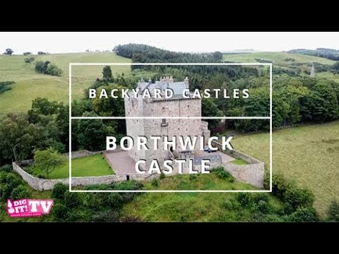 Backyard Castles - Borthwick Castle | Scotland Goes Pop