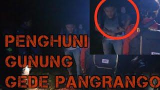 PENAMPAKAN DI GUNUNG GEDE PANGRANGO SAAT RESCUE