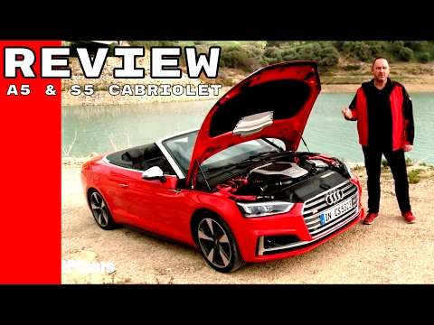 2017 Audi A5 and S5 Cabriolet Review