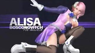Tekken 7 NEW Alisa Rage Combo