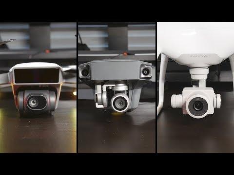 Get DJI Spark vs. Mavic Pro vs. Phantom 4 Pro Video Quality Comparison Pictures