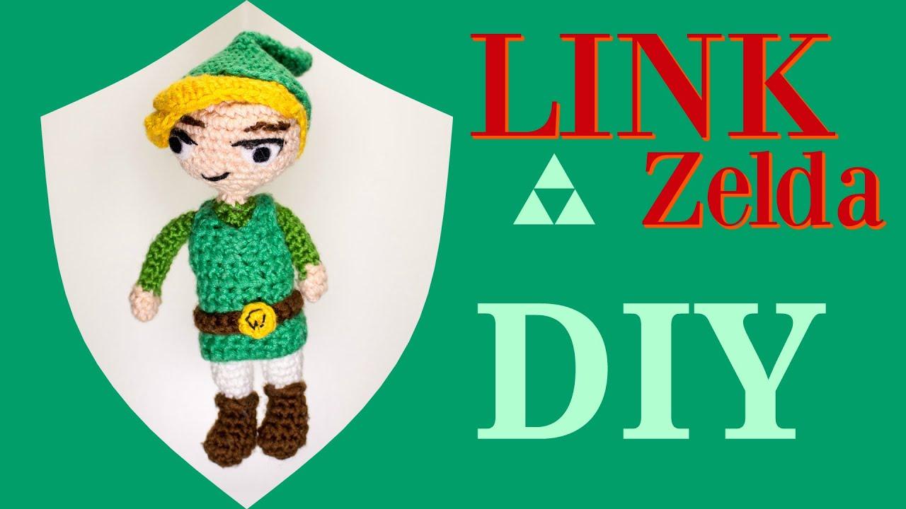 Link (Zelda) · Häkelanleitung *Do it Yourself* Teil 1 - YouTube