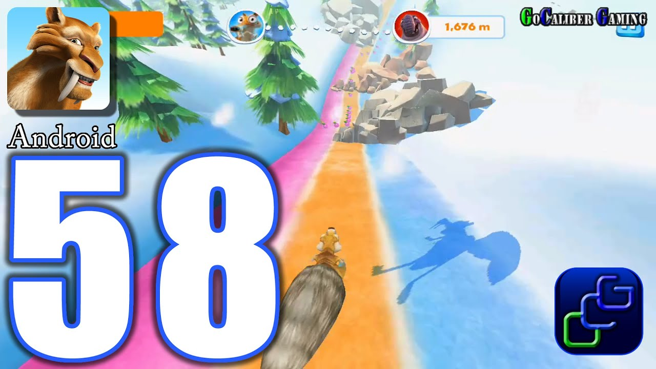 Ice Age Adventures Android Walkthrough Part 58 Easter Scrat Mini Game Youtube
