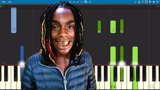 YNW Melly - Murder On My Mind - Piano Tutorial