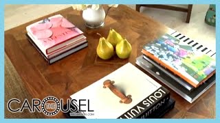 Coffee Table Decorating Ideas - The Carousel