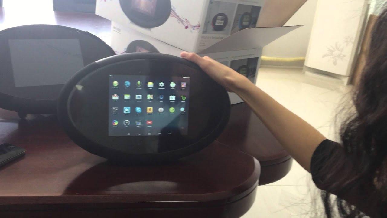sound pad Hifi Pad Android Desktop Kitchen tablet Smart Radio