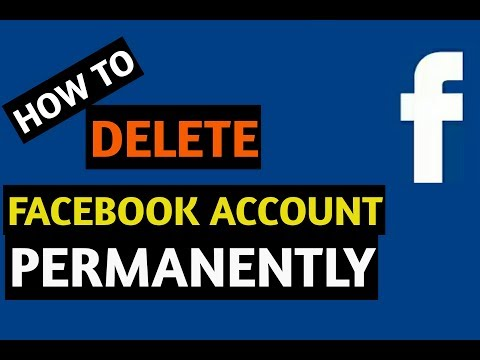How to Delete Facebook Account Permanently - in 1 minute