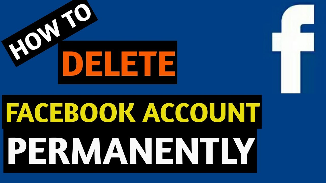 How to delete facebook account permanently in 1 minute youtube how to delete facebook account permanently in 1 minute ccuart Images