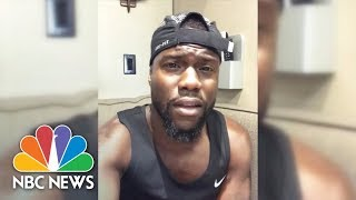 Kevin Hart Donates $25,000 To Hurricane Harvey Victims, Challenges Celebrities To As Well | NBC News