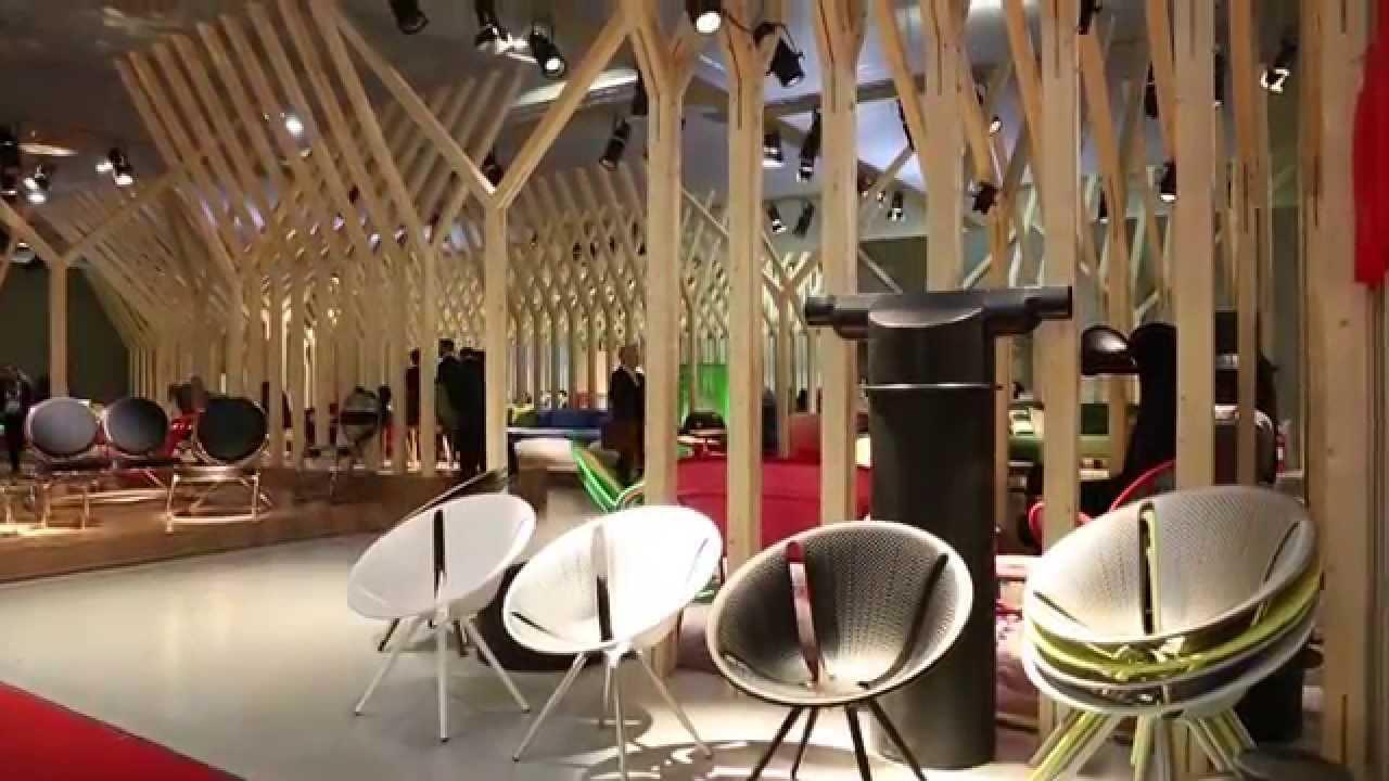 Moroso stand salone del mobile 2015 youtube for I saloni del mobile