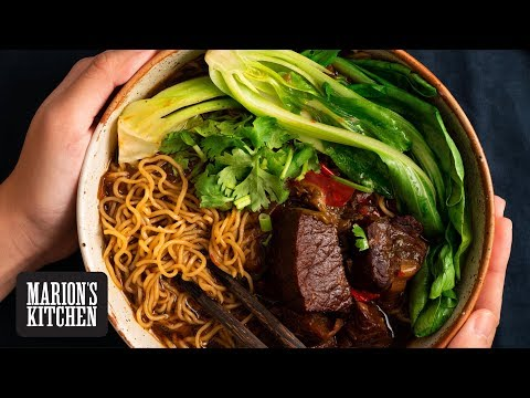 Taiwanese Beef Noodle Soup - Marion's Kitchen
