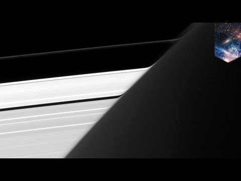 Saturn's rings close up: NASA's Cassini spacecraft shows rings bending around planet - TomoNews