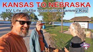 Kansas to Nebraska | Fขll Time RV Life | RV America Y'all