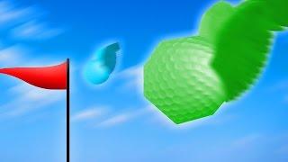 ОПАСНЫЙ МНОГОГРАННЫЙ МЯЧИК! (Golf With Your Friends)