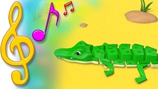 TuTiTu Songs | Crocodile | Songs for Children with Lyrics