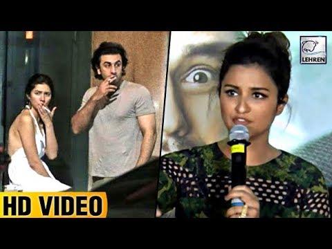 Parineeti Chopra REACTS On Ranbir Kapoor & Mahira Khan Smoking Viral Picture | LehrenTV